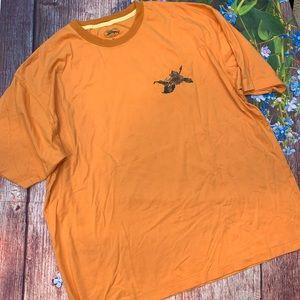 Tommy Bahama A Shot of Paradise Orange T-shirt XL